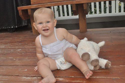 Sharyn Jane, 10 months